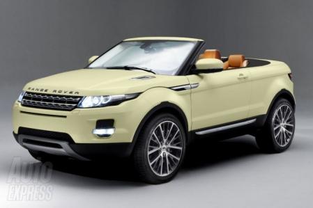 Comienzan los rumores sobre la fabricación del Range Rover Evoque Cabrio