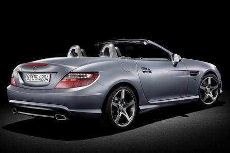 Más detalles sobre el Mercedes SLK 55 AMG y la nueva versión diésel