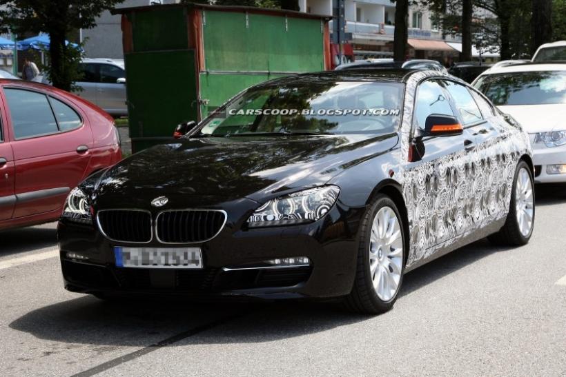 Nuevas fotos espía del BMW Serie 6 Gran Coupé