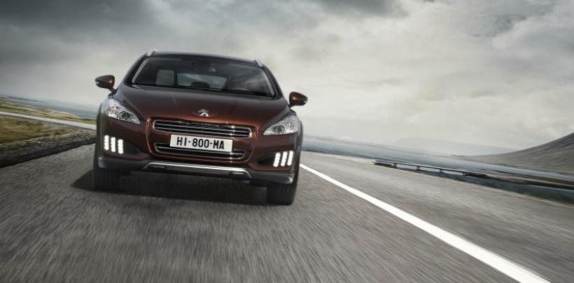 Peugeot presentará el 508 RXH con sistema Hybrid4 en Frankfurt