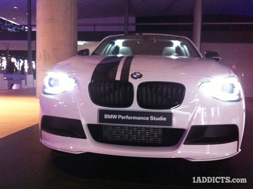 BMW Serie 1 Performance Concept para Frankfurt