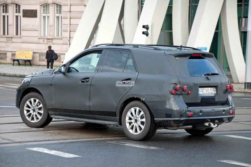 Cazamos al Mercedes ML 2012 de pruebas en Praga