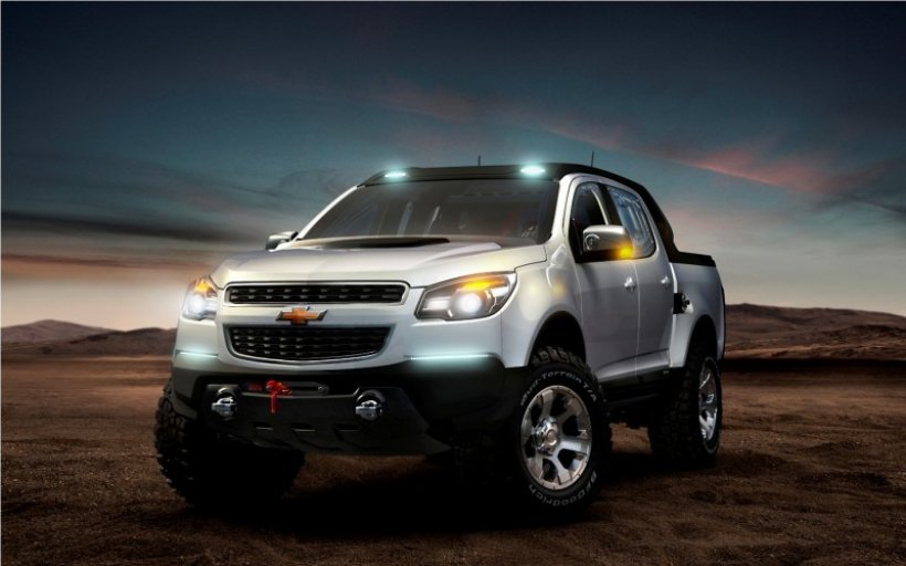 Chevrolet Miray y Colorado Rally concept en el Salón de Frankfurt