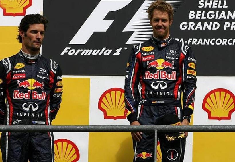 Doblete de Red Bull en Spa. 7ª victoria de Vettel. Alonso 4º