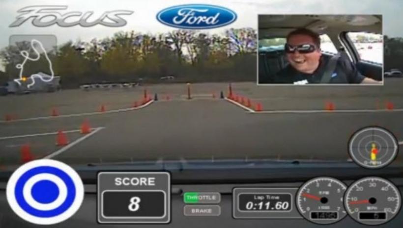 Ford combina los tests drive con los juegos de video.