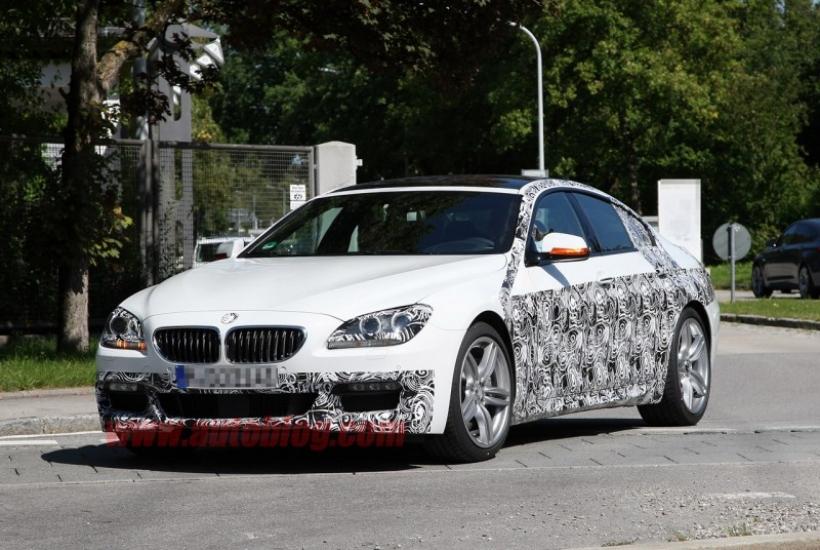 Fotos espía del BMW Serie 6 Gran Coupé con el Pack M Sport