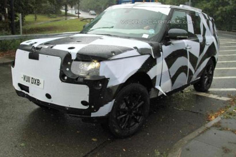 Fotos espía del Range Rover 2013