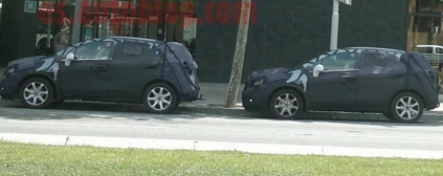 Vídeos espía del SUV pequeño de Opel