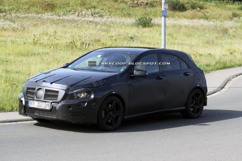 Fotos espía del Mercedes Clase A AMG