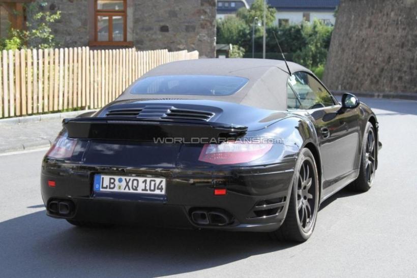Fotos espía: Porsche 911 Cabrio 2012