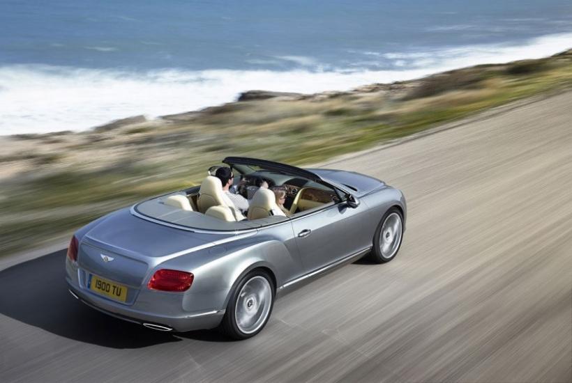 Fotos y video del Bentley Continental GTC 2012