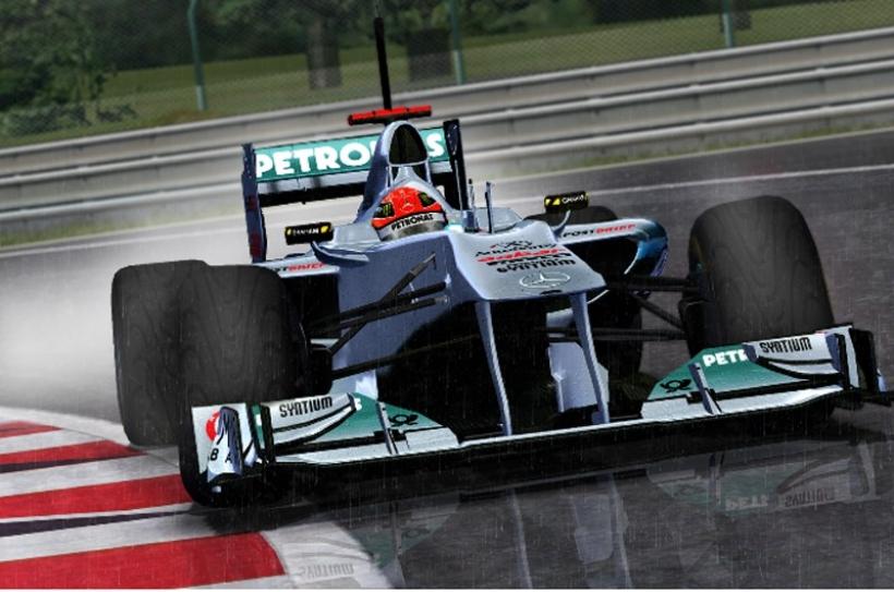 GP Bélgica 2011, Libres 1: Schumacher el más rápido