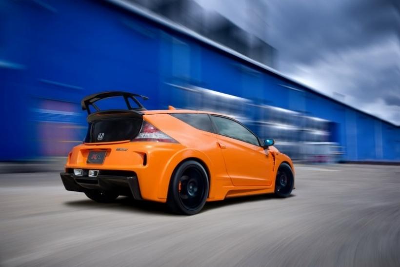 Honda presenta el CR-Z RR Study, la versión deportiva de la coupé híbrida