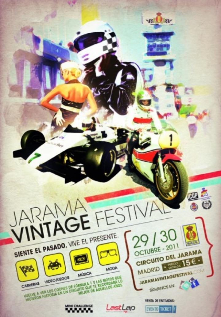 Jarama Vintage Festival. Fiesta de las leyendas del motor