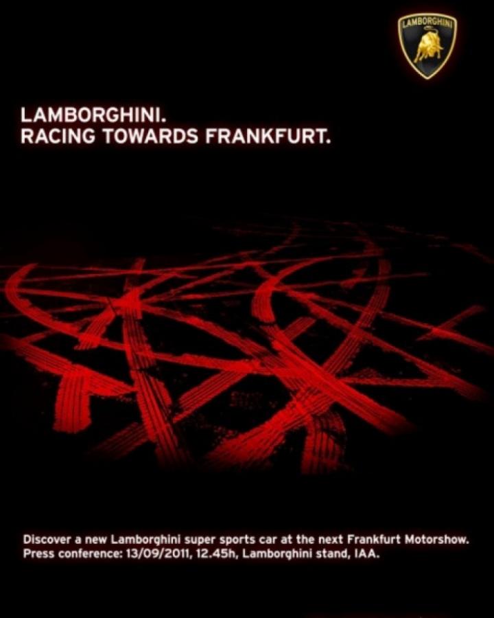 Lamborghini tiene guardada una sorpresa para el Salón de Frankfurt 2011