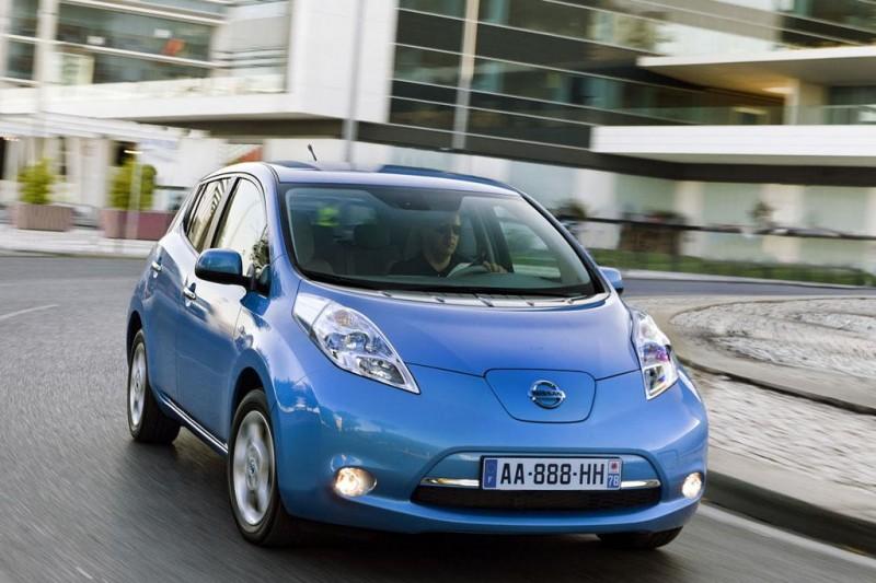 Las primeras unidades del Nissan LEAF llegan a España