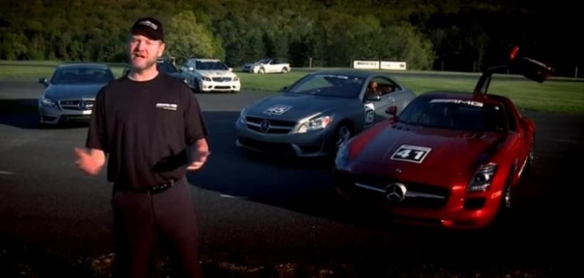Lecciones de conducción deportiva en video gracias a AMG Driving Academy I