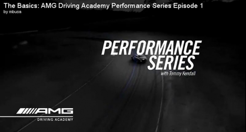 Segunda parte de las lecciones de conducción deportiva de AMG Driving Academy