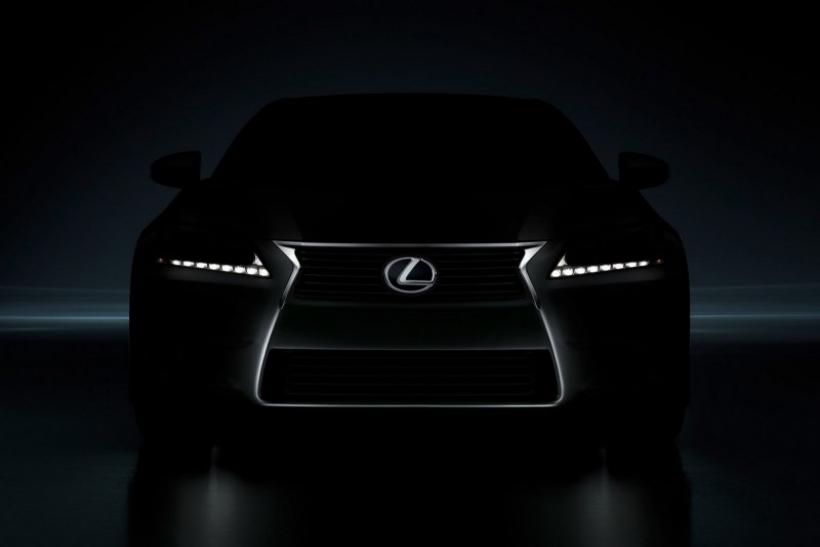 Lexus GS 2012: primer teaser