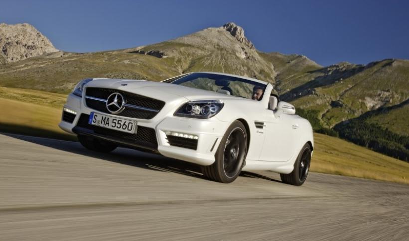 Mercedes SLK 55 AMG 2012: Más potencia y menos consumo