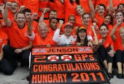 GP Hungría 2011: Estadísticas y curiosidades