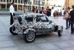 Video del Audi E-Tron bugy por las calles de Berlín