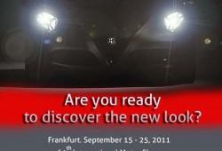 Alfa presentaría oficialmente al 4C en el Salón de Frankfurt