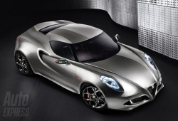 Alfa Romeo revela una nueva versión del 4C Concept