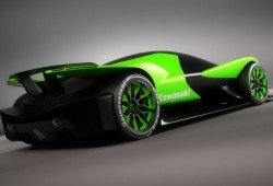 Así sería un deportivo fabricado por Kawasaki