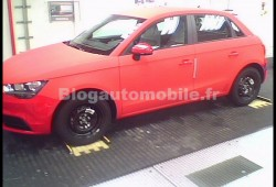 Audi A1 Sportback pillado sin camuflaje