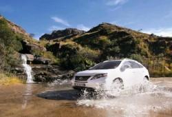 El Lexus RX 450h demuestra su potencial en África