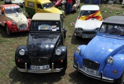 El mayor encuentro del mundo de Citroën 2 CV