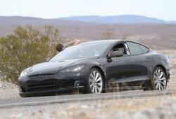 El nuevo Tesla S pillado en pruebas