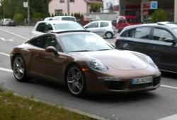 El Porsche 911 (991) se pasea de nuevo por Stuttgart
