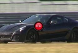 El reemplazante del Ferrari 599 ya gira en Fiorano