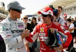 Fernando Alonso: Felicito a Schumacher