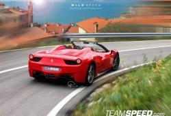 ¿Ferrari 458 Italia Spider para Frankfurt?
