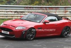 Fotos espías del Jaguar XKR-S convertible