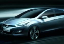 Hyundai i30 2012: primer teaser