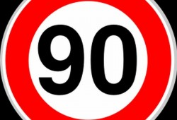 La DGT plantea reducir al velocidad a 90 km/h en todas las vías convencionales