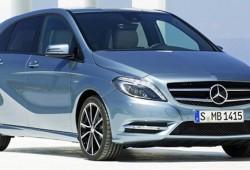 Mercedes-Benz Clase B 2012. Esta vez lo vemos de frente