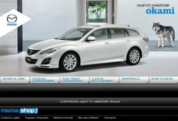 Nuevo Mazda 6 Okami. Sólo en MazdaShop