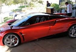 Pagani presentó el Huayra en Estados Unidos