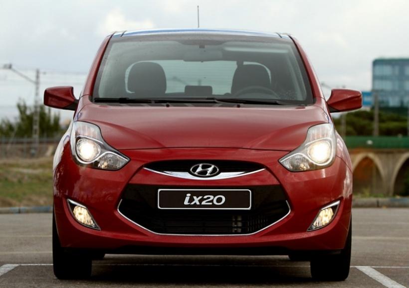 Nueva gama 2012 para el Hyundai ix20