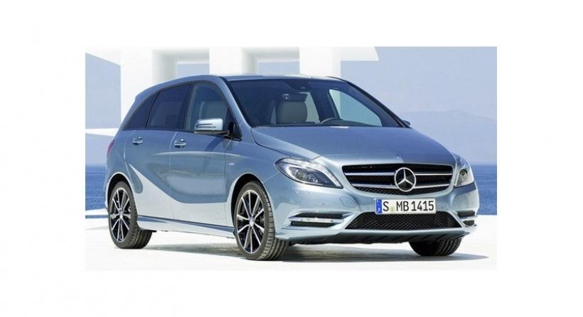 Nuevas fotos filtradas del Mercedes Clase B 2012