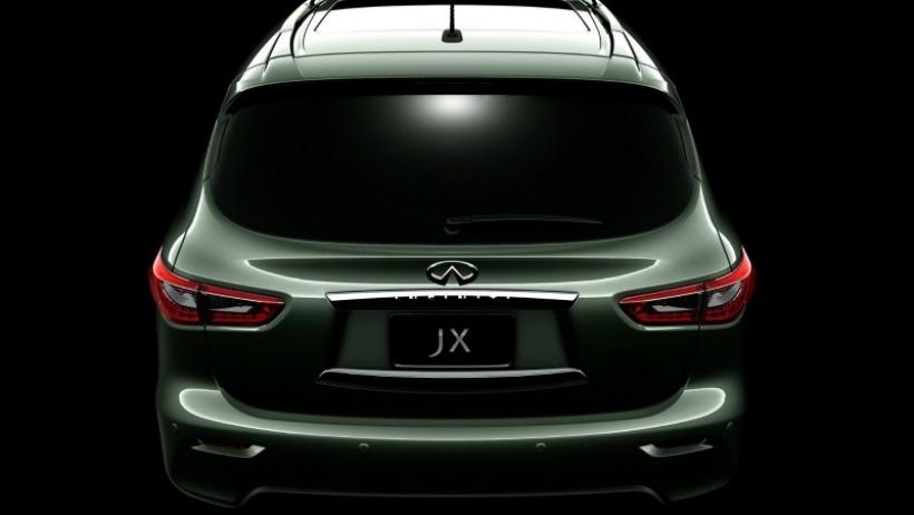 Nuevo teaser (y van seis) del Infiniti JX