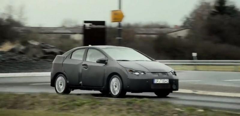 Nuevo vídeo (y detalles) del Honda Civic 2012