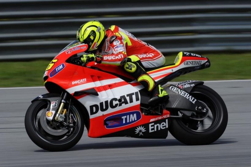 Rossi sorprendido con la Yamaha 1000 cc
