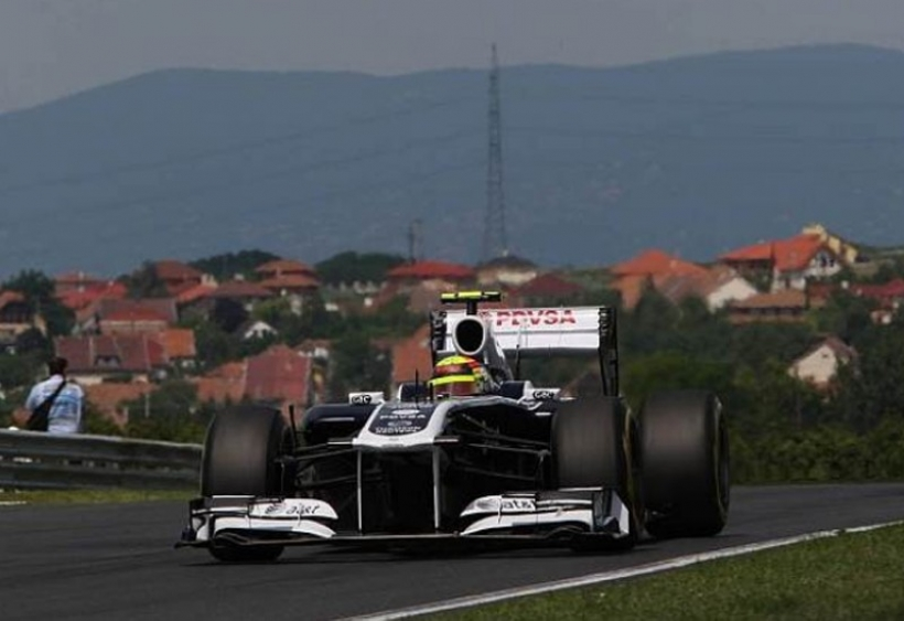 Spa: Williams con nuevo alerón trasero