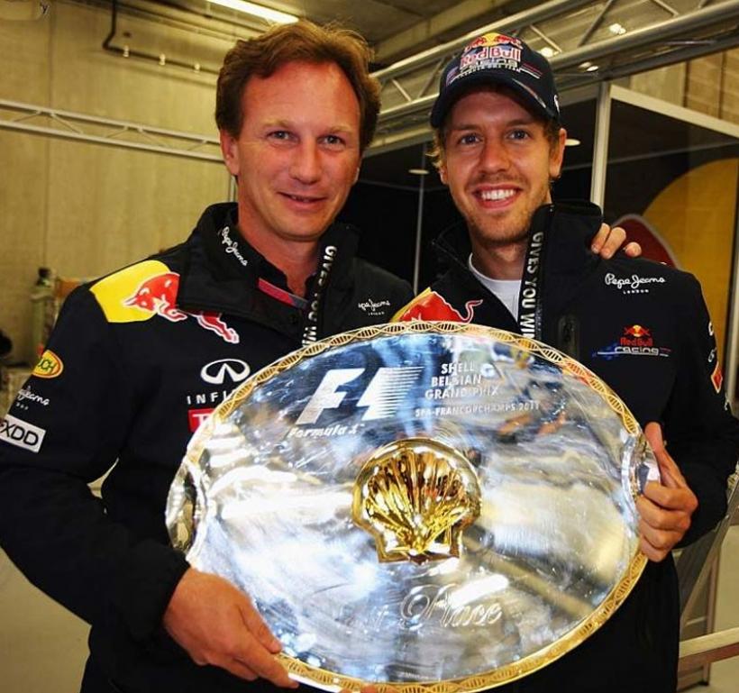 Vettel aún no se confía... a pesar de tener el título en el bolsillo